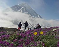 ロシア・カムチャッカ アバチャ登山5日間