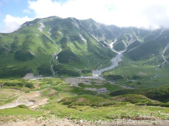 北アルプス・立山三山縦走1泊2日