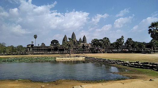 カンボジア・アンコールワット遺跡群早周り!